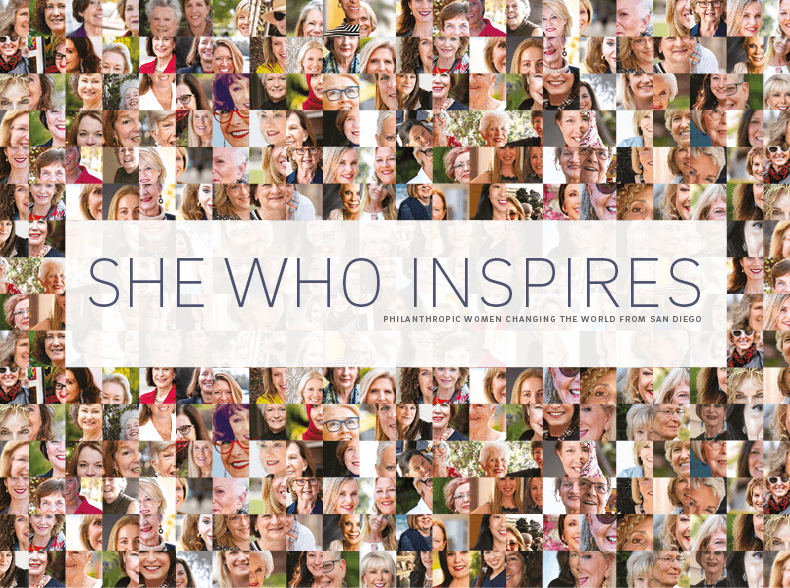 She Who Inspires: Philanthropic Women Changing the World from San Diego